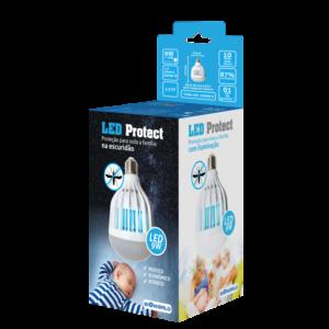 Led-Protect Ilumina 9W + Atrai e Mata Mosquitos (2X1) 220V