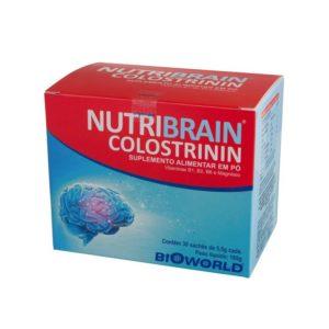 Nutribrain Colostrinin Para Envelhecimento Cerebral Bioworld 1Caixa Com 30 Sachês