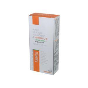 Serum Facial Samui Com Vitamina C E Ácido Hialurônico Ante Age Rejuvenescedor 30ml